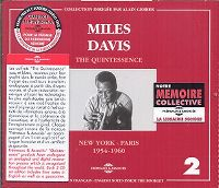 Cover Miles Davis - The Quintessence 2