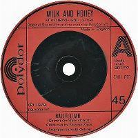 Cover Milk And Honey - Hallelujah