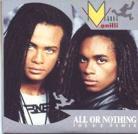 Cover Milli Vanilli - All Or Nothing
