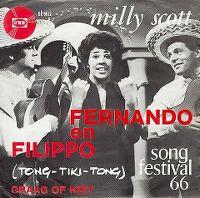 Cover Milly Scott - Fernando en Filippo (Tong-tiki-tong)