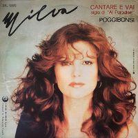 Cover Milva - Cantare e vai