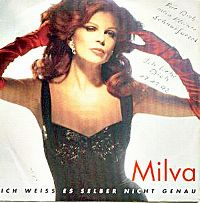 Cover Milva - Ich weiß es selber nicht genau