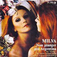 Cover Milva - Non pianger più Argentina