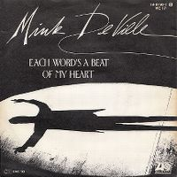 Cover Mink DeVille - Each Word's A Beat Of My Heart