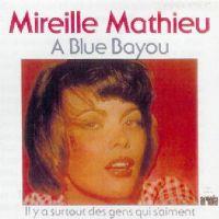 Cover Mireille Mathieu - À Blue Bayou
