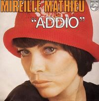 Cover Mireille Mathieu - Addio