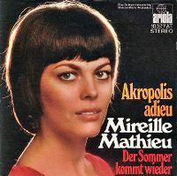 Cover Mireille Mathieu - Akropolis adieu