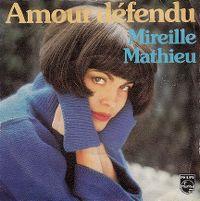 Cover Mireille Mathieu - Amour défendu