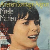 Cover Mireille Mathieu - An einem Sonntag in Avignon