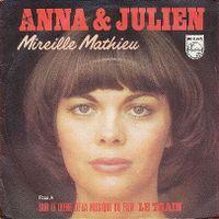 Cover Mireille Mathieu - Anna & Julien
