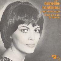 Cover Mireille Mathieu - C'est dommage