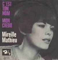 Cover Mireille Mathieu - C'est ton nom