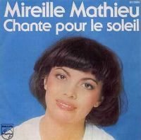 Cover Mireille Mathieu - Chante pour le soleil