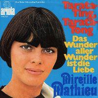 Cover Mireille Mathieu - Das Wunder aller Wunder ist die Liebe