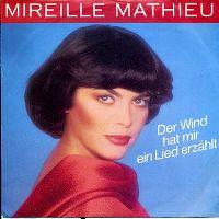 Cover Mireille Mathieu - Der Wind hat mir ein Lied erzählt