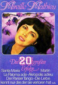 Cover Mireille Mathieu - Die 20 großen Erfolge