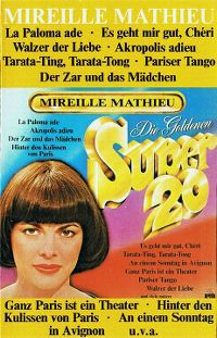 Cover Mireille Mathieu - Die Goldenen Super 20
