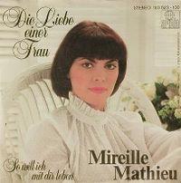 Cover Mireille Mathieu - Die Liebe einer Frau