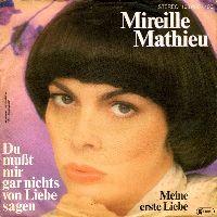 Cover Mireille Mathieu - Du mußt mir gar nichts von Liebe sagen