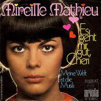 Cover Mireille Mathieu - Es geht mir gut, Chéri