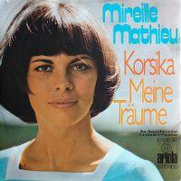 Cover Mireille Mathieu - Korsika