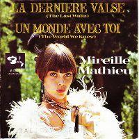 Cover Mireille Mathieu - La dernière valse