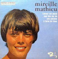 Cover Mireille Mathieu - L'amour est passé