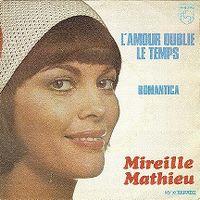 Cover Mireille Mathieu - L'amour oublie le temps