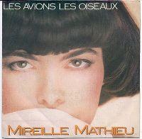 Cover Mireille Mathieu - Les avions, les oiseaux