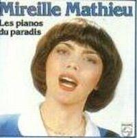 Cover Mireille Mathieu - Les pianos du paradis