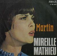 Cover Mireille Mathieu - Martin