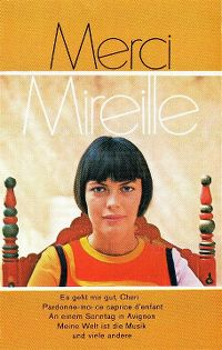 Cover Mireille Mathieu - Merci Mireille