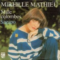 Cover Mireille Mathieu - Mille colombes