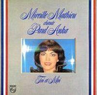 Cover Mireille Mathieu - Mireille Mathieu chante Paul Anka: Toi et moi
