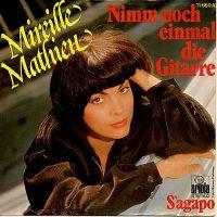 Cover Mireille Mathieu - Nimm noch einmal die Gitarre