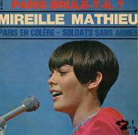 Cover Mireille Mathieu - Paris en colère