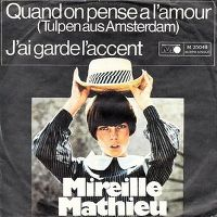 Cover Mireille Mathieu - Quand on pense à l'amour