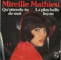 Cover Mireille Mathieu - Qu'attends-tu de moi?