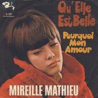 Cover Mireille Mathieu - Qu'elle est belle