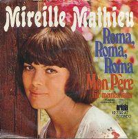 Cover Mireille Mathieu - Roma, Roma, Roma