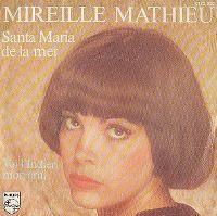 Cover Mireille Mathieu - Santa Maria de la mer
