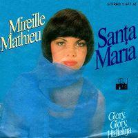Cover Mireille Mathieu - Santa Maria