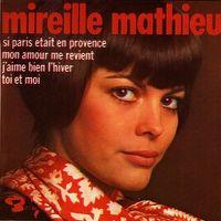 Cover Mireille Mathieu - Si Paris était en Provence