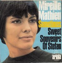 Cover Mireille Mathieu - Sometimes