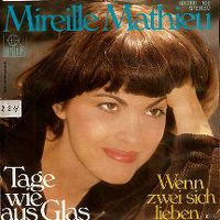Cover Mireille Mathieu - Tage wie aus Glas