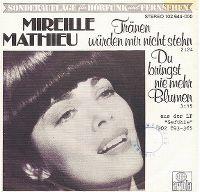 Cover Mireille Mathieu - Tränen würden mir nicht stehn