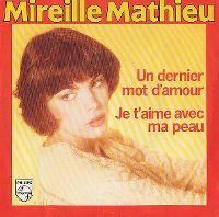 Cover Mireille Mathieu - Un dernier mot d'amour