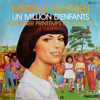 Cover Mireille Mathieu - Un million d'enfants