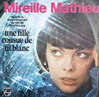 Cover Mireille Mathieu - Une fille cousue de fil blanc