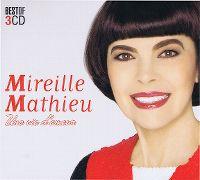 Cover Mireille Mathieu - Une vie d'amour - Best Of 3CD
